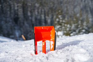 Stayhold Compact Safety Shovel - Mini pictured in snow