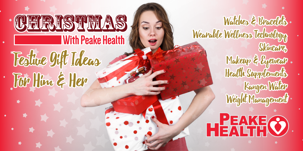 Christmas shopping ideas from Peake Health