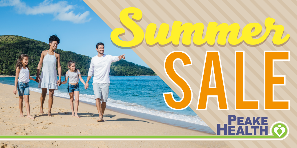 Peake Health Summer Sale