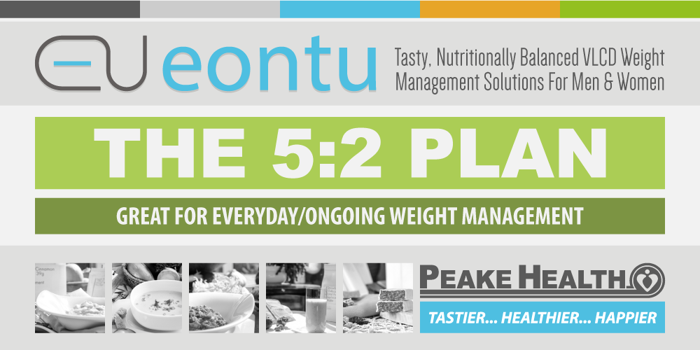 The 5:2 Eontu Diet Plan from Peake Health