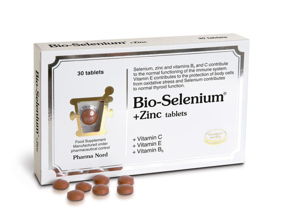 Bio-Selenium + Zinc (+ vitamin C, E and B6) (30 tabs)