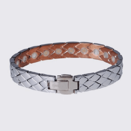 Copperii Men's Bracelet (White Gold)