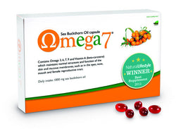 Omega 7 - Sea Buckthorn Oil (Omega-3, 6, 7 & 9) (150 Caps)