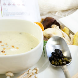 Healthy Cream of Wild Mushroom Soup