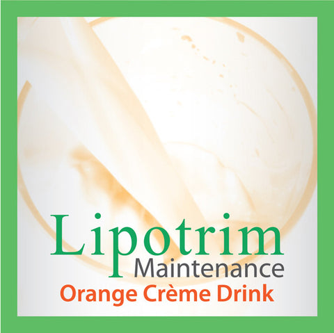 Orange Creme Drink (Lipotrim Maintenance)