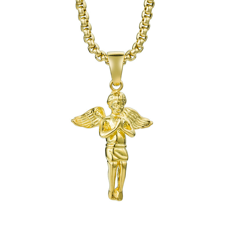 Praying Angel Necklace