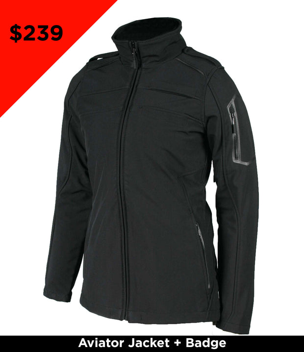 KR502W - SP - Women's Aviator II Combo - Jacket + Badge
