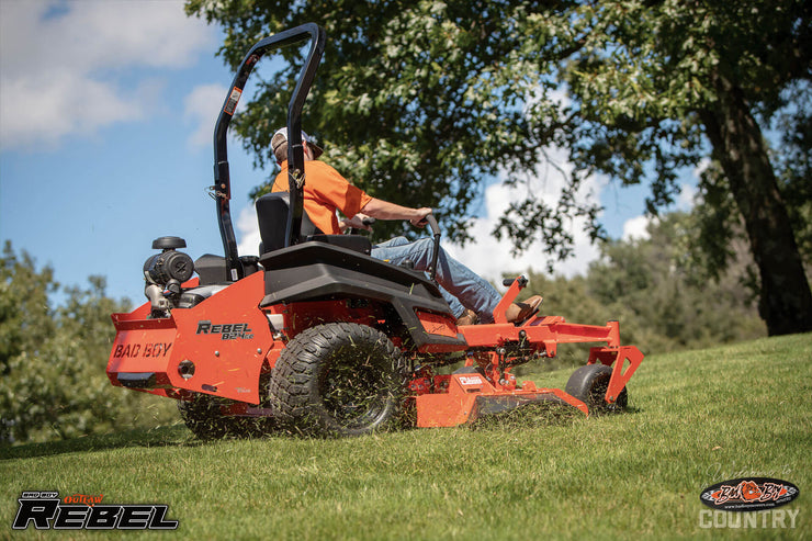 Bad Boy Mowers 2019 Outlaw Rebel 61 inch Kawasaki FX 35HP