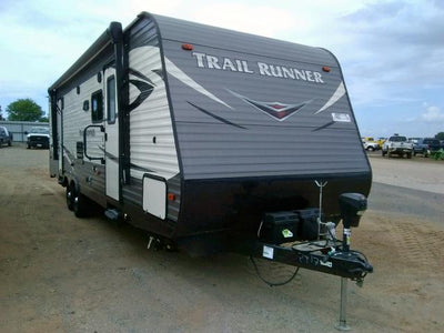 Heartland 2019 Trail Runner Toy Hauler RV Camper Travel Trailer