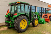 2018 John Deere 5075E Cab 4x4 520M Loader Power Shuttle, 4.9% for 60 Financing WAC