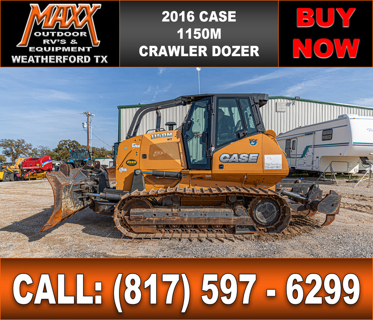 2016 CASE 1150M DOZER W/RIPPER