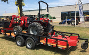 Maxx Outdoor TYM 2019 37HP Tractor Package with Box Blade Shredder Loader and Trailer