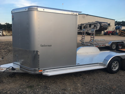 Sundowner 2020 Outdoorsman Silver Trailer