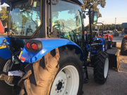 New Holland 2019 Workmaster 55 T4A 55HP Tractor Loader Inst seat HiVis Cab