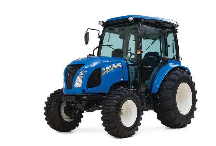 New Holland 2019 Boomer 50 With Loader Cab Hydrostat 50HP T4B 2 Rear Remotes