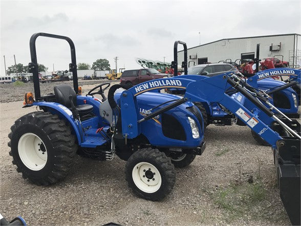 2017 NEW HOLLAND WORKMASTER 40 /140TLA Loader, Aged Inventory