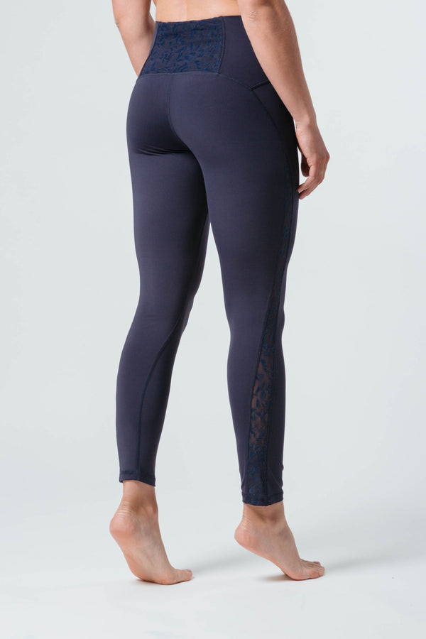 Noou Air High-waist Jacquard Lace Legging