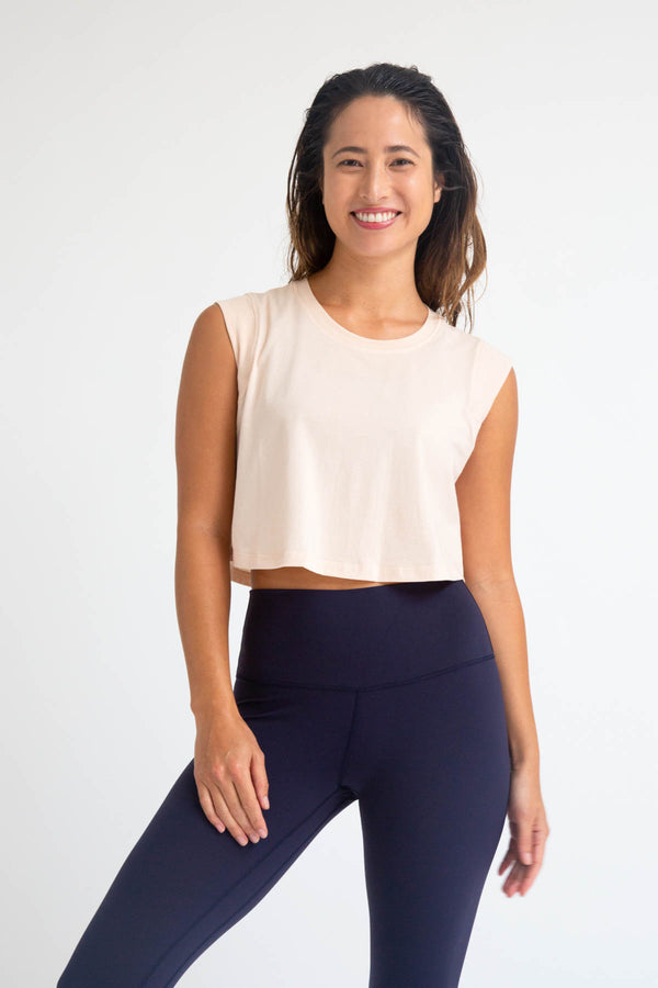Noou Soft Everyday Crop Tank