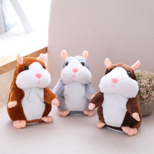 PELUCHE HAMSTER PARLANTE