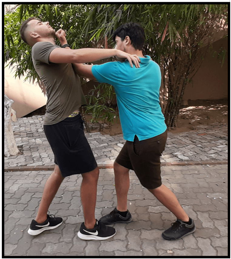 Cours de self defense - Uppercut