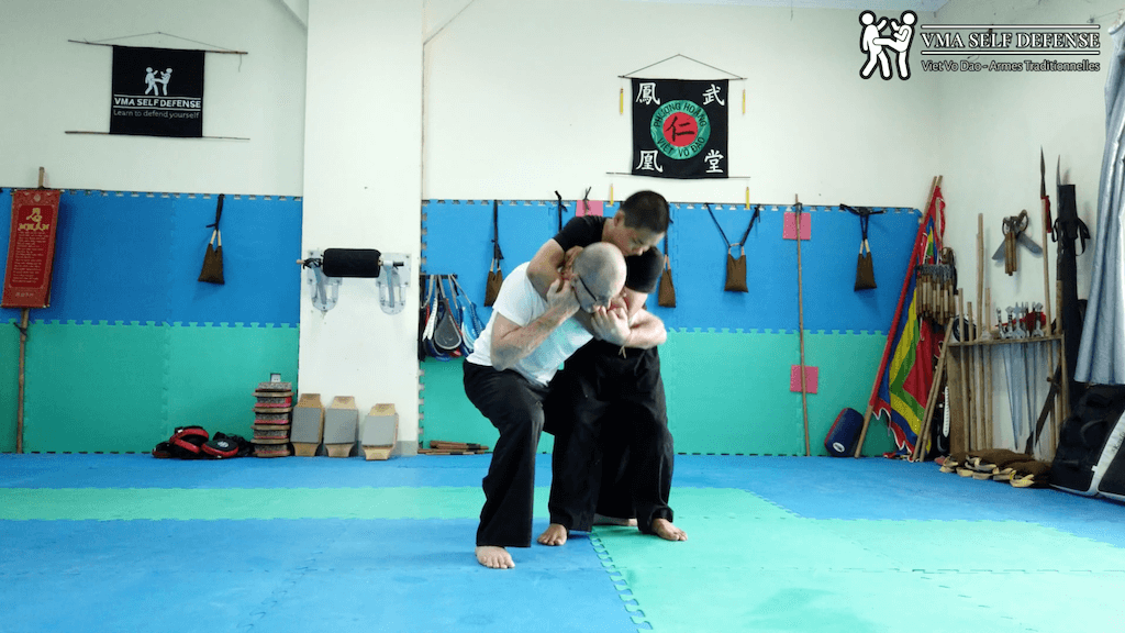 self defense in french