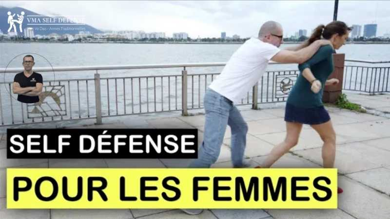 Technique contre l'agression d'une femme