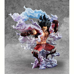 MegaHouse Portrait.Of.Pirates ONE PIECE SA-MAXIMUM MONKEY D LUFFY - GEAR 4 Snake Man