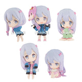 Ero Manga Sensei Sagiri ga Ippai Collection Figures