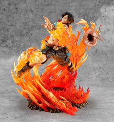 "Megahouse Portrait Of Pirates ONE PIECE ""NEO-MAXIMUM"" PORTGAS・D・ACE 15th LIMITED Ver."