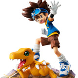 GEM SERIES DIGIMON ADVENTURE YAGAMI TAIICHI & AGUMON Ver. 20th anniversary Figurine