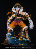 Unique Art Studio 'ONE PIECE' Monkey D. Luffy One Piece Log Collection Statue