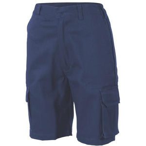 Ladies Cotton Drill Cargo Shorts 3308