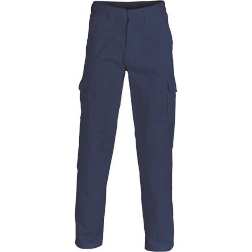 Cotton Drill Cargo Pants 3312