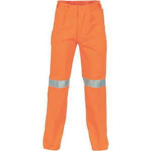 Cotton Drill Pants With 3M Reflective Tape 3314