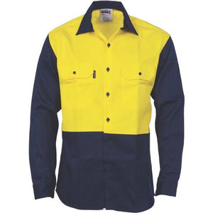 Patron Saint Flame Retardant Two Tone Drill Shirt - L/S 3406