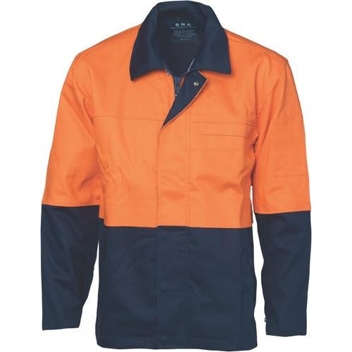 Patron Saint® Flame Retardant Two Tone Drill Welder's Jacket 3431