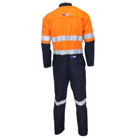 Inherent Flame Retardant 2 Tone Taped Coveralls - 3481