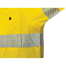Load image into Gallery viewer, Hi Vis Segmented Tape Cotton Jersey Polo - Long Sleeve 3516