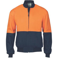 Load image into Gallery viewer, HiVis Two Tone Cotton Bomber Jacket 3757