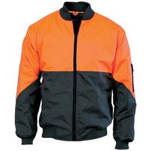 Load image into Gallery viewer, HiVis Two Tone Bomber Jacket 3761