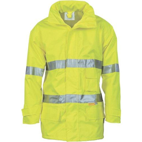 HiVis Breathable Anti-Static Jacket with 3M Reflective Tape 3875