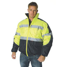 Load image into Gallery viewer, HiVis Day/Night Contrast Bomber Jacket 3992