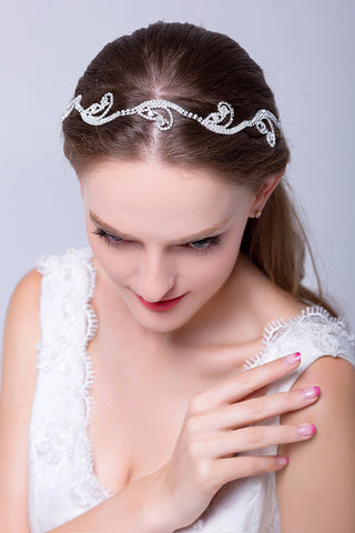 Women'S Alloy/Ribbon Headpiece - Wedding / Special Occasion / Outdoor Headbands #SP019