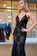 V Neck Spaghetti Straps Prom Dress Tulle Sweep Train With