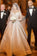 Ball Gown Long Sleeve Ivory Satin Wedding Dresses with Lace Long Bridal Dresses JS721