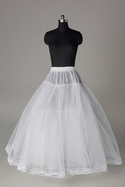 Women Tulle/Polyester Floor Length 3 Tiers Petticoats JS0011