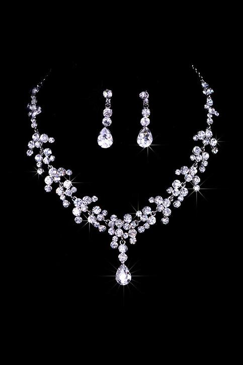 Unique Alloy With Rhinestone Ladies' Jewelry Sets  JS0027