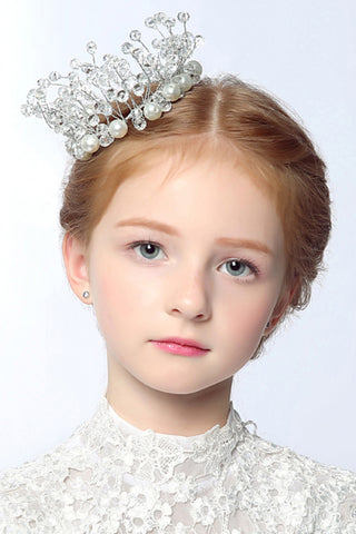 Women'S/Flower Girl'S Rhinestone/Imitation Pearl Headpiece - Wedding / Special Occasion Tiaras