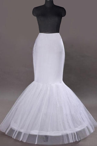Women Nylon/Tulle Netting Floor Length 1 Tiers Petticoats SME0020