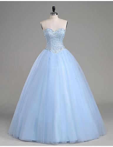 Modest Sweetheart Ball Gown Bodice Fashion Strapless Sexy New Style Quinceanera Dress JS602